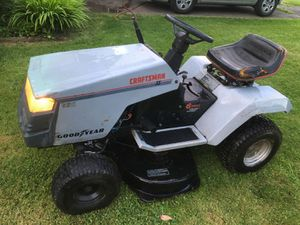 lawnmower tractor craftsmen for Sale in Woodburn, OR