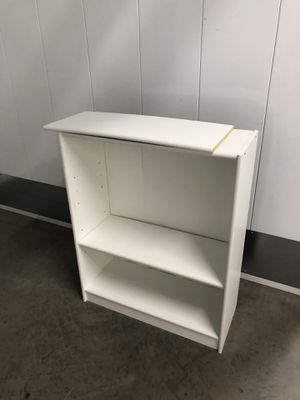 White bookcase bookshelf for Sale in San Diego, CA