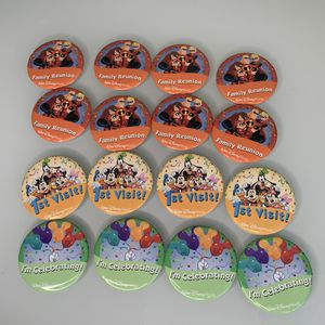 16 Disney World Pin Back Buttons 1st Visit I'm Celebrating Family Reunion for Sale in Renton, WA