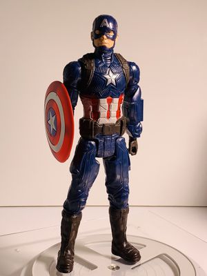 """Marvel 12"""" Captain America Toy Figure with Shield for Sale in Los Angeles, CA"""