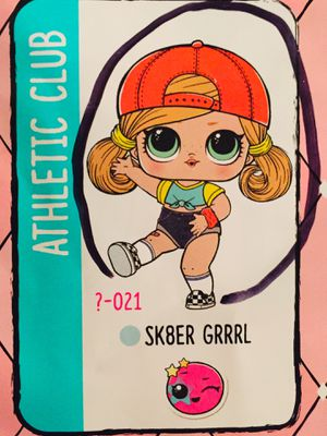 Sk8er Grrrl LoL Surprise Doll Hair Goals Wave 1 series for Sale in Edmonds, WA