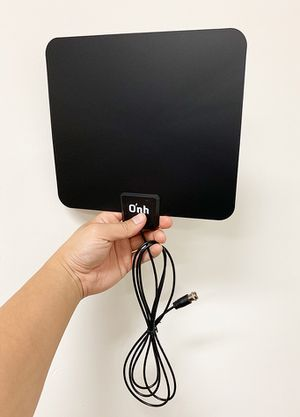 "$10 NEW Small 7""x8"" HDTV Antenna Indoor Flat Local Digital TV Channels, 25 Miles Range for Sale in Pico Rivera, CA"