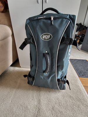 New York Jets Rolling Duffle Bag for Sale in Toms River, NJ