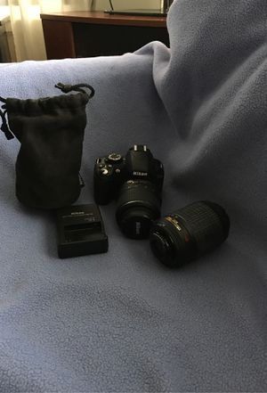 Nikon Dx. 3100 camera with 2 lenses. for Sale in Normandy Park, WA