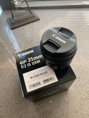 Canon Lens EF 35mm f/2 IS USM for Sale in Mission Viejo, CA
