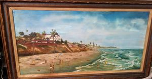 Oil Painting by F. Ison 1971 for Sale in Santa Ana, CA