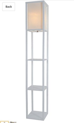 Floor lamp with shelves for Sale in New York, NY