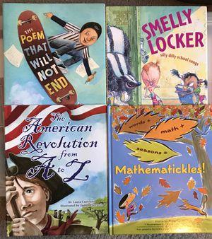 LOT OF 4 HARDCOVER CHILDREN'S BOOKS for Sale in Modesto, CA