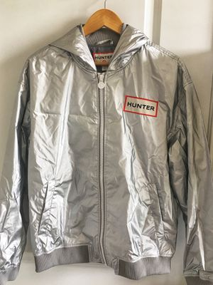 New with Tags Hunter Target Silver Hood Bomber Jacket for Sale in Chicago, IL