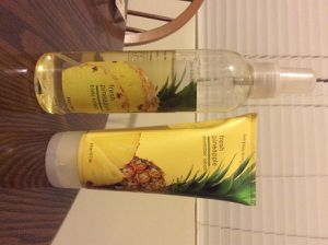 Bath and Body Works Pineapple Perfume and Lotion for Sale in Arlington, VA