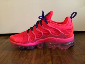 "VaporMax Plus - ""Bright Crimson"" SIZE 9 Women's for Sale in Mill Creek, WA"