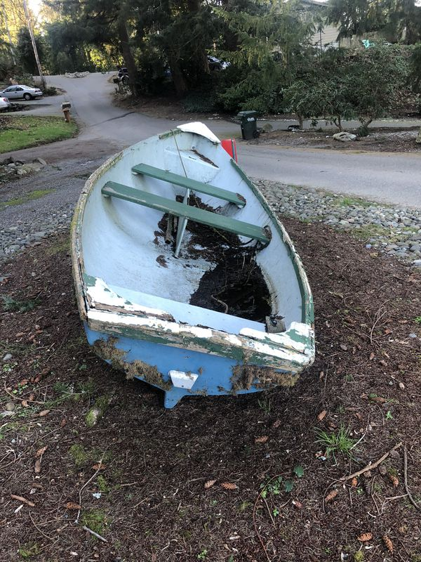 Boat For Yard Art For Sale In Gig Harbor Wa Offerup