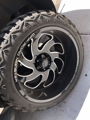 22x12 on 33s for sale or trade 6 lug Chevy for Sale in Las Vegas, NV