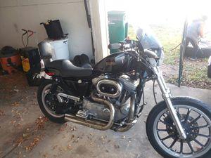 01 sporster 1200 2k obo or trade for Sale in Waco, TX