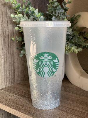 Glitter Venti Starbucks cup for Sale in Gilroy, CA