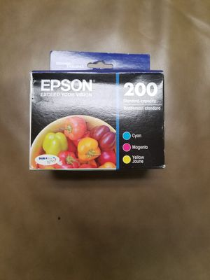 Epson 200 ink cartridges (cyan, magenta, yellow) for Sale in Lexington, KY