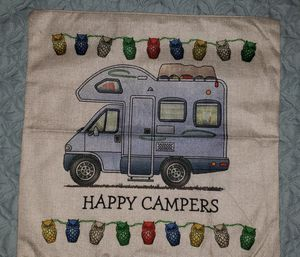 Classic retro motorhome pillow cover for Sale in Tarpon Springs, FL