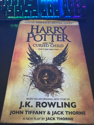 Harry Potter and the cursed child hard cover for Sale in Orange, CA