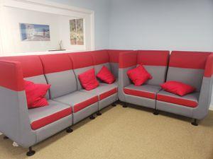 L shape sofa contemporary sofa for Sale in Falls Church, VA
