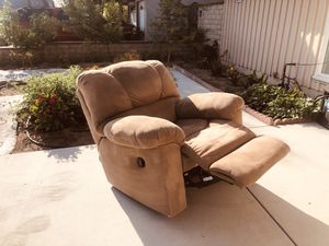 Flat Reclining Sofa, It's not electric. for Sale in Cypress, CA