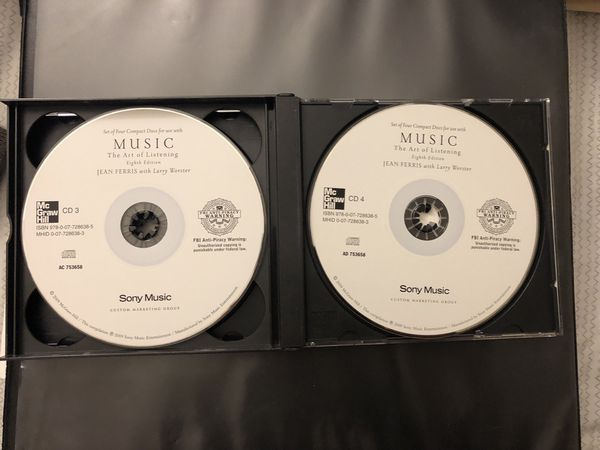 4-CD set Music: The Art of Listening (Audio CD)