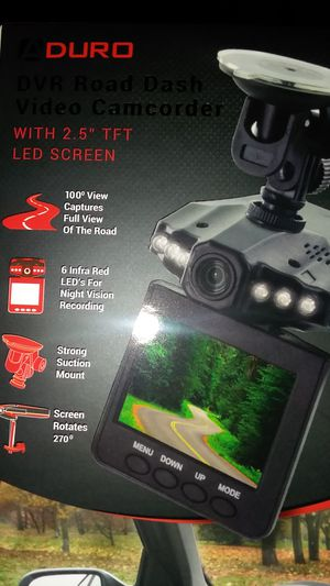 DVR Road Dash Video Camcorder for Sale in Duluth, MN