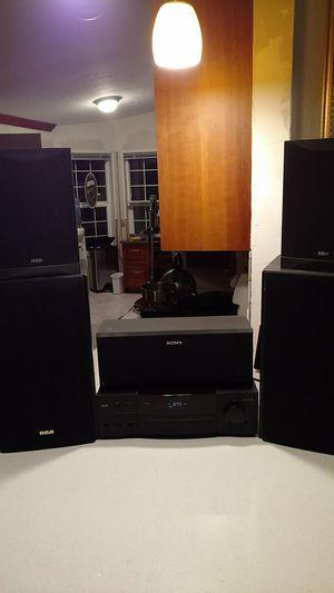 RCA stereo surround sound for Sale in Redmond, WA