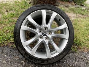 "Selling two Mazda 6 19"" rims with 50% tread on each for Sale in Boynton Beach, FL"