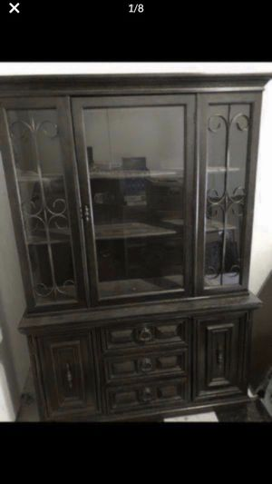 "Kitchen Hutch, China Cabinet, Kitchen Furniture H 70"" L 48"" W 15 "" Great condition $400 or Best Offer Need to get it out of the house In Leander, Tx for Sale in Leander, TX"