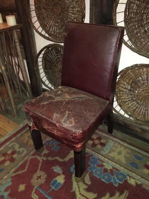 Antique leather chair for Sale in New York, NY