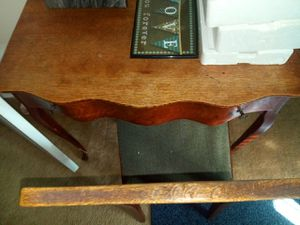 Antique desk and chair for Sale in Middle River, MD