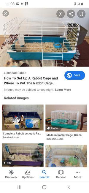 Bunny cage hmu more info for Sale in San Bernardino, CA