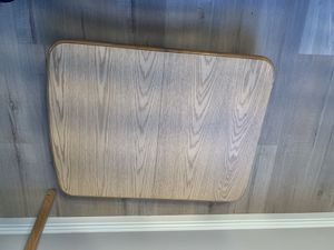 Extendable expandable wall mount solid wood RV table for Sale in Las Vegas, NV