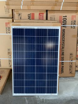 Brand new 100 watt polycrystalline solar panel for Sale in Montclair,  CA