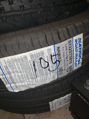 225 7515 trailer tires NEW for Sale in North Las Vegas, NV