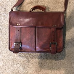 100% Authentic Leather Messenger Bag for Sale in Mt. Juliet,  TN
