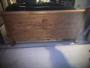 California King Sleigh Bed Frame for Sale in San Tan Valley, AZ