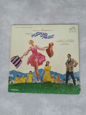 The Sound Of Music Record and Storybook Vintage Record for Sale in Meridian, ID