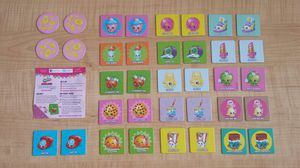 Only $1 - Shopkins Make-A-Deal Matching Game. Has all the pieces except the box. Everything will come in a plastic bag. for Sale in St. Petersburg, FL