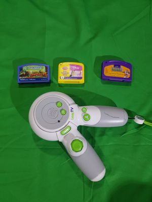 Leap frog Tv Remote with 3 games for Sale in Altamonte Springs, FL