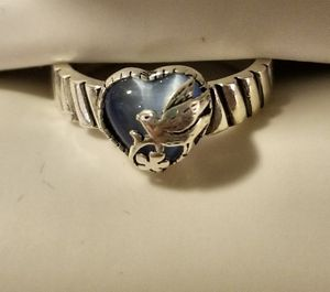 Brand new Sterling Silver Cat's Eye Bird of Paradise ring! for Sale in Poway, CA