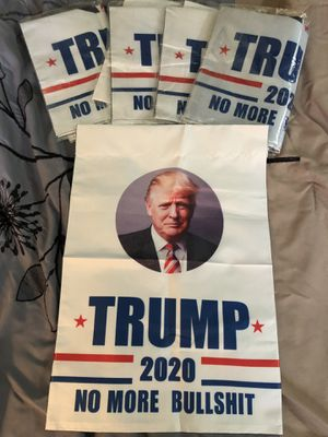Trump 2020 no more BS flag 🇺🇸 for Sale in West Palm Beach, FL