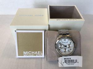 Michael Kors Runway Silver Stainless Steel 38mm Women's Watch MK5076 for Sale in Alhambra, CA