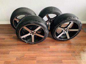 18 inch rims 5 lugs 115 for Sale in Orlando, FL