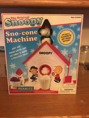 Original Snoopy Sno-cone Machine for Sale in Clovis, CA