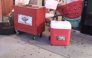 Hot dog cart and cooler for Sale in South Gate, CA