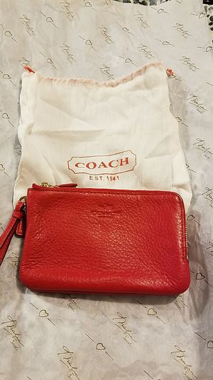 Coach double pocket wristlet for Sale in Annandale, VA