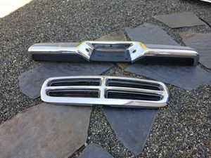 Dodge Truck parts Grill and Rear Bumper 2002 for Sale in Puyallup, WA