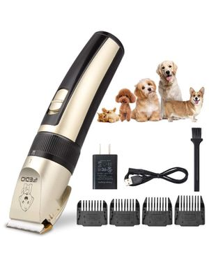 Professional Dog Clippers Rechargeable Dog Grooming Kit Cordless Pet Grooming Clippers Low Noise Dog Grooming Clippers Pet Clippers Suitable for Dogs for Sale in Irvine, CA