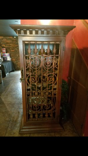 Antique wine cabinet for Sale in Wilmington, NC